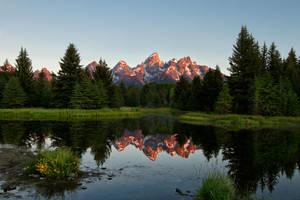 Teton Sunrise by SonjaPhotography