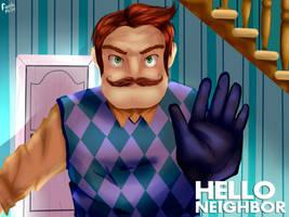 Hello Neighbor FanArt by FioreCor