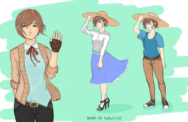 OC (Original Character): Seyuri by NaKaJi143