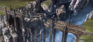 Silvernai: Flying bridge ruins by noiprox