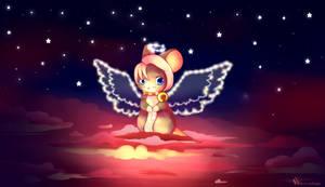 Im so lonely, broken angel by Nariette