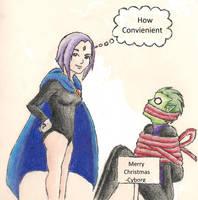 Raven's Gift by AnimatedBritney