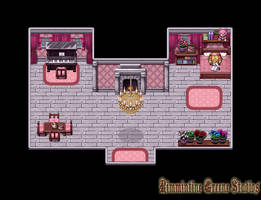 A Princess' Bedroom (RPG Maker Map #1) by Lamentine