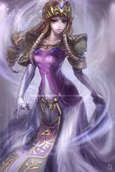 Princess Zelda - Twilight Princess by kimchii
