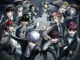 EXO - Growl by kimchii