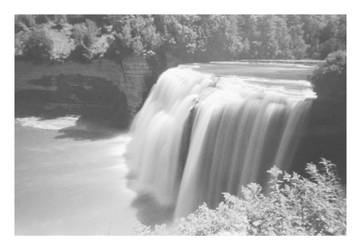 2018-235 Middle Falls at Letchworth State Park (H) by pearwood