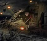 Halloween Nite by gocer-art