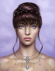 Commission: Feliane Portrait by mckadesinsanity