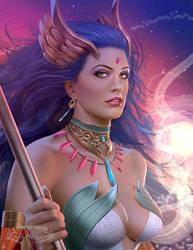 Commission: Lana Solaris 3 by mckadesinsanity