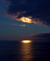 moonlight on the atlantic by Mittelfranke