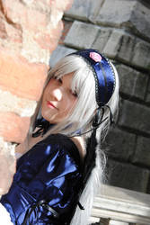 Suigintou's face by ayumicosplay