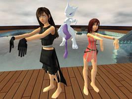 Square Enix Girls Hypnotized by VG-MC