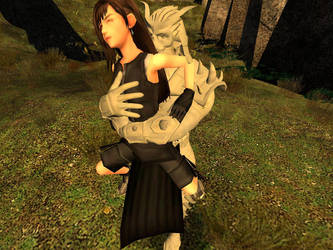 Tifa Lockhart Bear Hugged And Groped by VG-MC