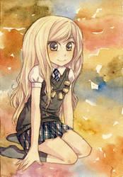 Luna Lovegood by Kuru-mo