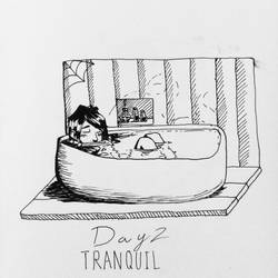 Day 2. Tranquil by PaperKnite