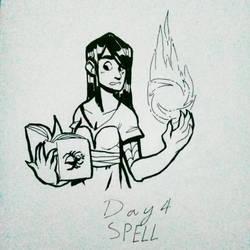 Day 4. Spell by PaperKnite