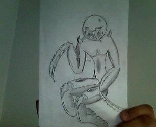 Mantis humana by DGKK