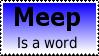 Meep Stamp by Davvrix