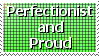 Perfectionist Stamp by Davvrix
