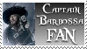 Captain Barbossa Stamp by Davvrix