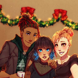 Liam, Marlo and Audrey's Christmas - WSCU #55 by SurrenderComics