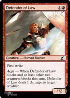 Defender of Law by d-conanmx