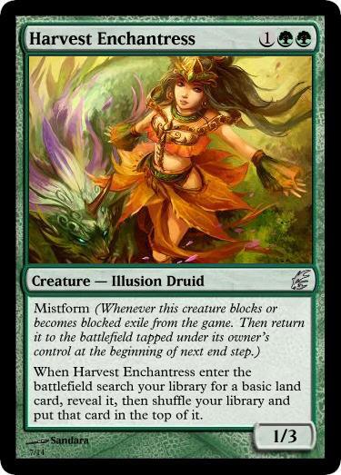 Harvest Enchantress by d-conanmx