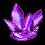Purple Crystal Page Decoration (F2U) by DarkRyderr