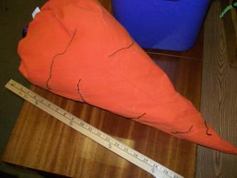 Carrot Bag, in progress by Sophophobia