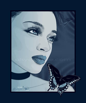 Lady Bluetterfly by afrodytta