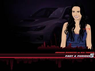 Mia Toretto FF5 wallpaper by afrodytta