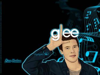 Glee Wall - Finn Hudson by afrodytta