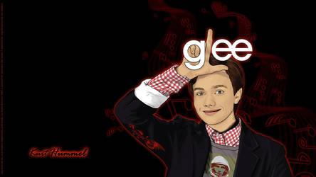 Glee Wall - Kurt Hummel by afrodytta