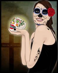 Dia de Muertos - La Catrina by afrodytta