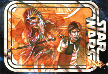 Han and Chewie by markmchaley