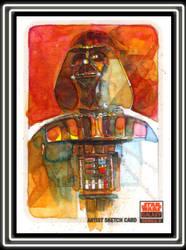 Darth Vader Galaxy 5 by markmchaley