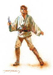 'Luke. Turn it on.' ~Ben Kenobi by markmchaley