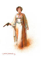 Leia Get Your Gun by markmchaley