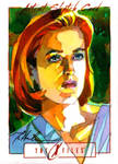 Skeptical Scully by markmchaley