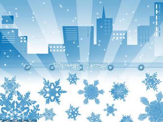 Snow Flake City by El-Sobreviviente