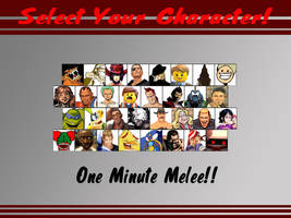 One Minute Melee: Fighter Select S1 by SSBFreak