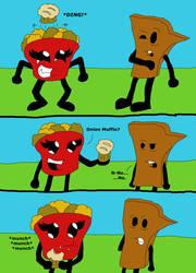 The Onion Muffin by SSBFreak