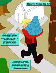 Stardew Valley Tip 5 - The Greenhouse by SSBFreak