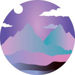 Mountain [illustrator practice] by VaderMi