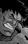 Grey Hulk by cmkasmar