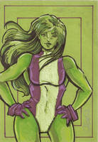 She Hulk by cmkasmar