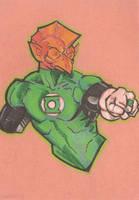 Green Lantern: Tomar Re 3 by cmkasmar