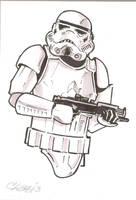 Stormtrooper by cmkasmar