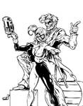 Joker and Harley by cmkasmar