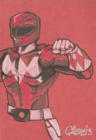 Red Ranger by cmkasmar